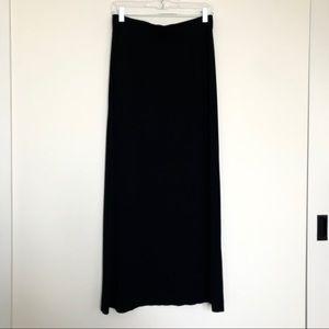 NWOT J. Crew stretchy maxi skirt